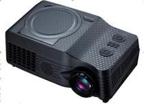 Mini Projetor 539 Lançamento  Home Cinema Com Dvd Portátil - Hamy