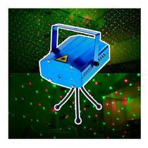 Mini Projetor Holográfico Canhão Laser Decoração De Festas Natal Aniversario - Wlxy