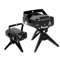 Mini projetor holografico laser tripe 173a luatek - Sem marca -