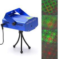Mini Projetor Laser Holográfico Luzes Decoração De Festas Natal Balada Iluminação xl-4gb Bivolt - Lx