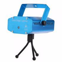 Mini Projetor Led Canhão Laser Com Efeitos Festas -