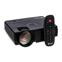 Mini Projetor Led Portatil - Betec BT810 - 1200 Lumens - Bluetooth - Entrada HDMI, VGA, AV, SD e USB - Betec Brasil