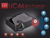 Mini Projetor Led Profissional 1200 Lumen Wifi Miracast Uc46 - Unic