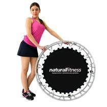 Mini Pula Pula Cama Elástica Jump Profissional 32 Molas - Natural fitness