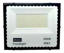 MINI REFLETOR FLOODLIGHT 300w IP67 BRANCO FRIO 6500K - Jortan