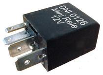 Mini rele auxiliar 12v 4 terminais - Dni