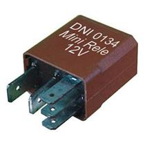 Mini relé controle do ar condicionado e ventilador do radiador 5 terminais 12v 20/10a xsara - Dni