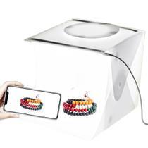 Mini Studio Fotografico LED Still Produtos Caixa de Foto Light Box - Ideal