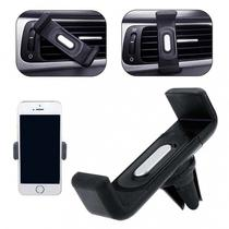 Mini Suporte Veicular para Smartphone e Gps Encaixe no Ar Condicionado Exbom - SP-A14 - Preto -