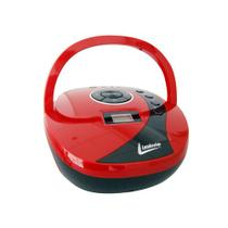Mini System Boombox Mp3 - Minibox - Vermelho - Leadership -