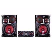 Mini System CJ98 XBoom Multi Bluetooth, Dual USB, Sound Sync Wireless, 2700W RMS - LG - Elgin calculos