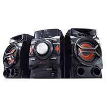 Mini System CM4350 X Boom Pro, MP3, 2 USB, Multi Bluetooth, USB Rec, TV Sound Sync, Brasil EQ, 220W RMS - LG - Elgin calculos