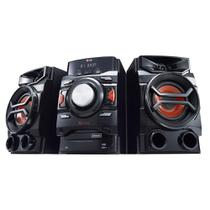 Mini System CM4350 X Boom Pro, MP3, 2 USB, Multi Bluetooth, USB Rec, TV Sound Sync, Brasil EQ, 220W RMS - LG -