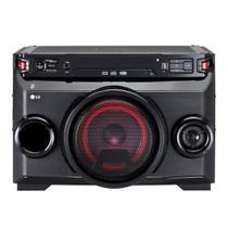 Mini System com CD 200W Bluetooth LG X-Boom Festa OM4560 com Entradas USB e Auxiliar -