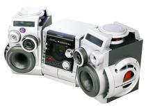 Mini System Eterny com DVD 120W RMS - MP3 com Karaokê Conexão USB - ET27009AB