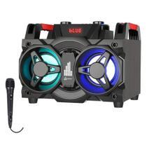 Mini System Lenoxx 150 W Bluetooth Rádio Fm Usb -