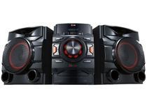 Mini System LG 1 CD 440W RMS  - Conexão USB Bluetooth CM4440