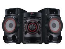 Mini System LG 1 CD 500W RMS - Conexão USB Auto DJ Bass Blast - CM4630