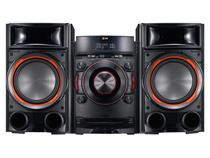 Mini System LG 1 CD 900W RMS - Conexão Dual USB Auto DJ Bass Blast - CM8330