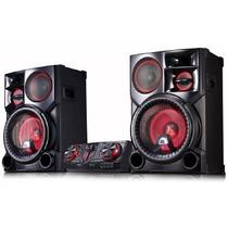 Mini system lg 2700w bluetooth cd usb - cj98.abrallk -  / 2 -