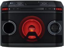 Mini System LG Bluetooth 220W CD Player Karaokê - AM/FM USB Torrre OL45 Xboom -