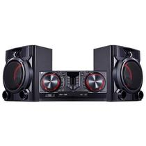 Mini System LG CJ65 XBoom Entrada USB - 810W -