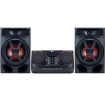 Mini System LG CK43 220W RMS Bluetooth USB Entrada Auxiliar Auto DJ -