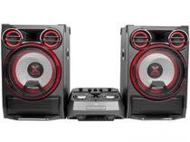 Mini System LG CK99 Bluetooth USB CD Player AM/FM MP3 4100W 2 Caixas Xboom -