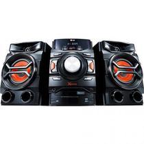 Mini System LG CM4350 Preto Bluetooth com CD Player Rádio AM/FM USB MP3  220W -