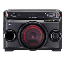 Mini System LG OM4560, Multi Bluetooth, USB, MP3, 200W - Bivolt -