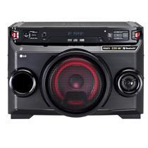 Mini System LG OM4560, Multi Bluetooth, USB, MP3, 200W - Bivolt -