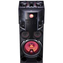 Mini system lg torre 1000w usb mp3 bluetooth - om7560.abrall