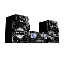 Mini system panasonic 1800w bluetooth cd usb - sc-akx700lbk