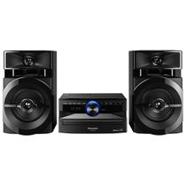 Mini System Panasonic 250W BLUETOOTH CD USB SC-AKX100LBK - Panasonic (audio video)