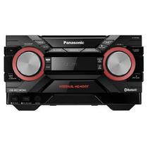 Mini SYSTEM Panasonic 580W Bluetooth CD USB - SC-AKX440LBK - Alba eletronicos