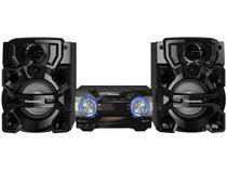 Mini System Panasonic Bluetooh 1800W USB MP3  - CD Player Rádio AM/FM AKX700