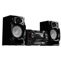 Mini System Panasonic Bluetooth 450W CD Player AM/FM USB SC-AKX220LBK - Panasonic (Audio Video)
