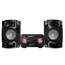 Mini System Panasonic SC-AKX440LBK Preto - CD, USB, Bluetooth, Max Juke - 580W