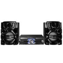 Mini System Panasonic SC-AKX710LBK, Bluetooth, USB, 1800W RMS  Bivolt -