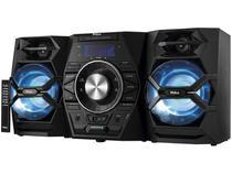 Mini System Philco Bluetooth USB MP3 CD Player  - Rádio AM/FM 500W 2 Caixas PH600BT
