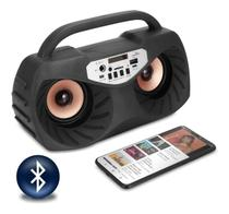 Mini System Rádio FM Bluetooth USB Karaokê Com Microfone - Master