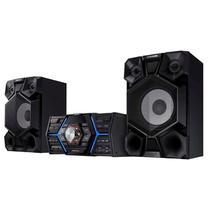 Mini System Samsung 1500W Rms Bluetooth CD MP3 USB MX-JS5000ZD - Samsung Audio E Video