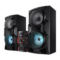 Mini System Samsung 2000W USB MP3 Bluetooth MX-HS6500ZD - Samsung Audio E Video