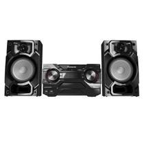 Mini System SC-AKX220LBK, 2 USB, Bluetooth, Max Juke, 450W RMS - Panasonic -