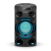 Mini System Sony  com CD, USB, iluminação, Karaokê, e Bluetooth - MHC-V02/B -