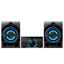 Mini System Sony MHC-MD60, 1600W, USB, MP3, FM, Bluetooth, Karaokê, Preto - Bivolt