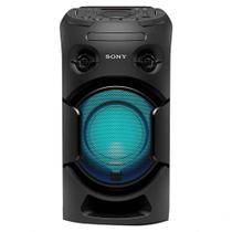 Mini System Sony MHC-V21, USB, MP3, FM, Bluetooth, Karaokê, Preto - Bivolt
