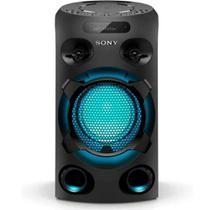 Mini System Sony Torre de Som MHC-V02 Bluetooth MP3 USB -