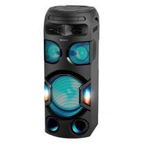 Mini System Torre Sony MHC-V72D/B com Mega Bass, USB, HDMI,Função DJ e Karaokê, Controle de Gestos -