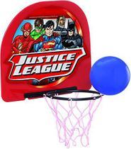 Mini Tabela de Basket com bola - Liga da Justiça Anjo Brinquedos 9082 -